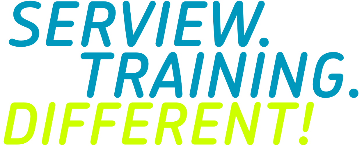 Serview.Training.Different. lettering